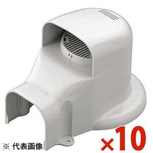 INABA・因幡電工 スリムダクト SD ウォールコーナー換気式 大口径用 10個セット ホワイト SWX-77L-W