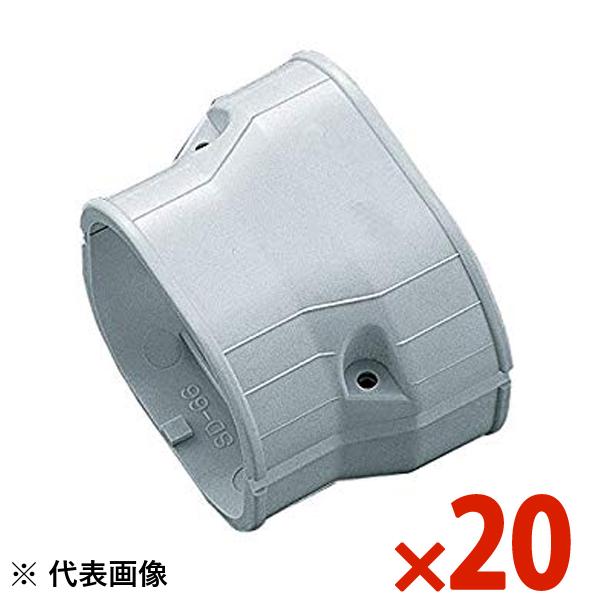【送料無料】INABA・因幡電工 スリムダクト SD 異径ジョイント 20個セット グレー SDR-100-77-G