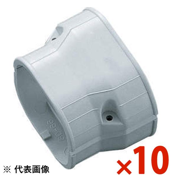 【送料無料】INABA・因幡電工 スリムダクト SD 異径ジョイント 10個セット グレー SDR-140-100-G