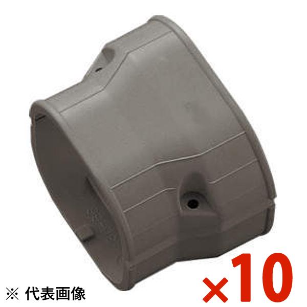 【送料無料】INABA・因幡電工 スリムダクト SD 異径ジョイント 10個セット ブラウン SDR-140-100-B