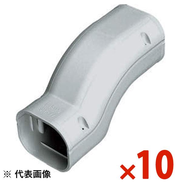 【送料無料】INABA・因幡電工 スリムダクト SD 段差継手 10個セット グレー SIF-100-G