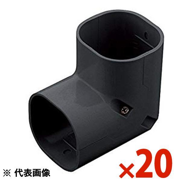 【送料無料】因幡電工イナバスリムダクトSDスリムコーナー立面90° 立面90°曲り 1箱20個入りSC-77-K ブラック/SC77K