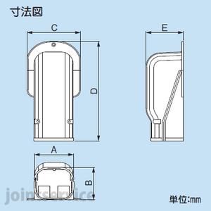 因幡電工/イナバ スリムダクト SDウォールコーナー 壁面取り出し用 1箱20個入SW-77-K ブラック/SW77K