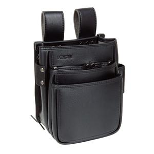 高級人造皮革製の腰袋 ポケット3段式 JND-833SW バーゲンセール 8月16日8時59分まで ポイント3倍 デンサン 在庫あり Jefcom DENSAN 電工プロハイポーチ ジェフコム
