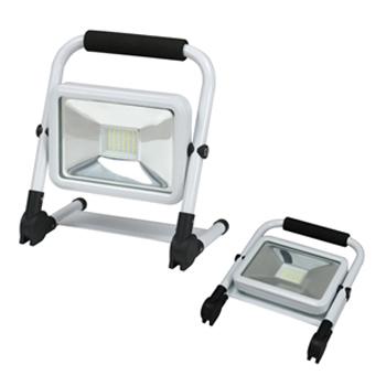 【送料無料】Jefcom・ジェフコム/DENSAN・デンサン LED投光器 充電タイプ PDSB-05020S