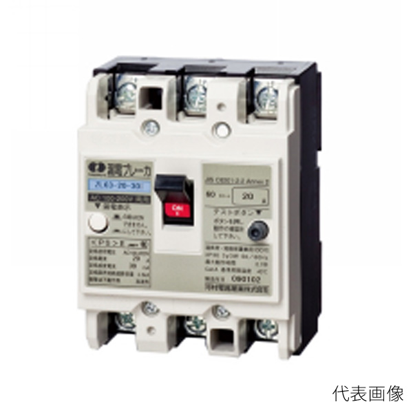 河村電器/カワムラ インバーター負荷対応漏電ブレーカー ZL-I ZL 63-60-30I
