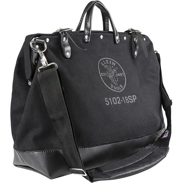 【送料無料】KLEIN TOOLS・クラインツールズ デラックスキャンパスツールバッグ 18インチ ブラック 5102-18SPBLK