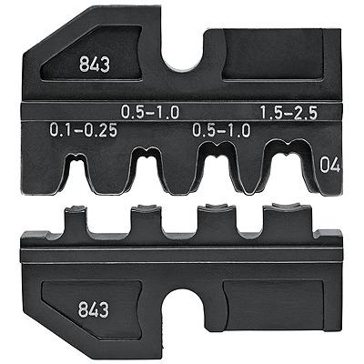 【送料無料】KNIPEX・クニペックス 圧着ダイス9743-200用 9749-04