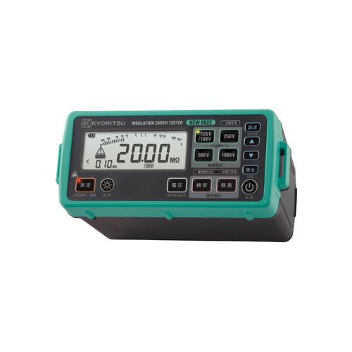 KYORITSU/共立電気計器 デジタル絶縁・接地抵抗計 6022LL型プローブ標準付属 ソフトケース付
