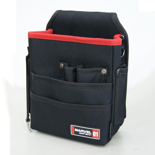 激安 MARVEL 新品 送料無料 マーベル 電工ポケット 2段 腰袋 ソフトフィットシリーズ 8月16日8時59分まで MDP-SF01 ポイント3倍