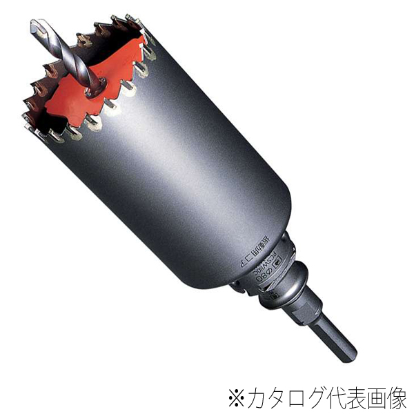 【送料無料】ミヤナガ ポリクリックシリーズ振動用コアドリルSコアセット SDSシャンク 刃先径75mm PCSW75R