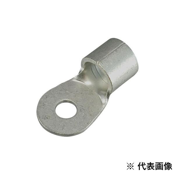 【送料無料】【ニチフ】 銅線用裸圧着端子 R10010 R型ターミナルR100-10 50個入り