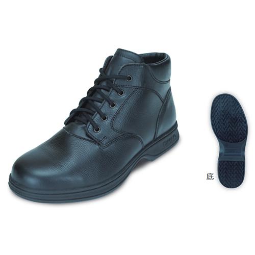 日進ゴム 安全靴 #9100 22.5cm ブラック ハイパーVソール搭載 HyperV