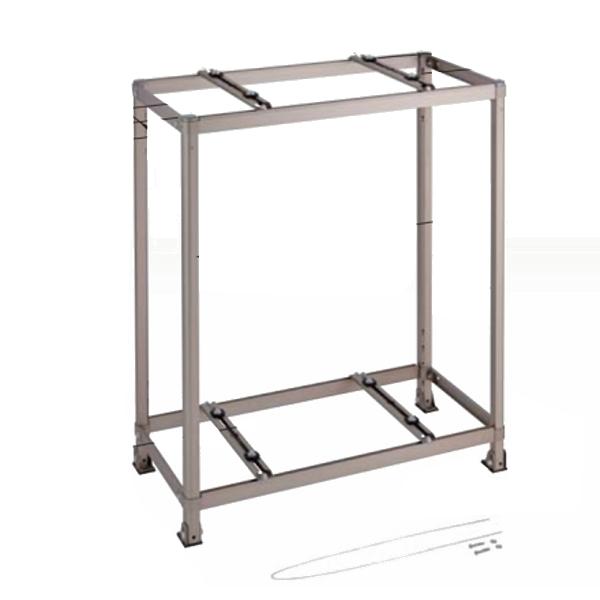 オーケー器材 二段置台 アルミキーパー K-AW8H 【旧型番:K-AW8G】