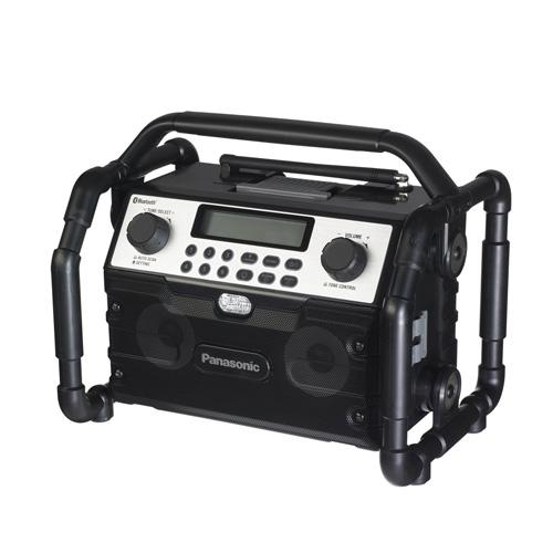 【送料無料】Panasonic/パナソニック 工事用 充電ラジオ&ワイヤレススピーカー EZ37A2