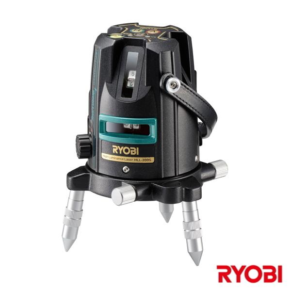 【送料無料】RYOBI・リョービ レーザー墨出器 HLL-300G