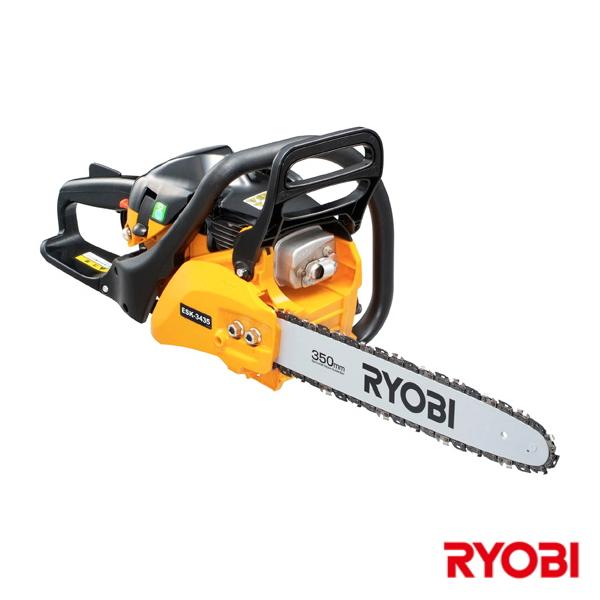 【送料無料】RYOBI・リョービエンジンチェンソー 350mm リアハンドルESK-3435【4198531】