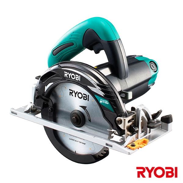 【送料無料】RYOBI・リョービ 電子丸ノコ W-573ED