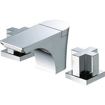【送料無料】三栄水栓製作所/SANEIツーバルブ洗面混合栓K5580PK