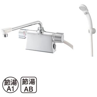 【送料無料】三栄水栓製作所/SANEIサーモデッキシャワー混合栓SK785D-L