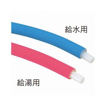 【送料無料】三栄水栓製作所/SANEI保温材付架橋ポリエチレン管T100N-2-16A-10-R