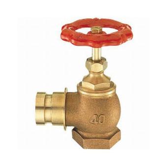 【送料無料】三栄水栓製作所/SANEI差込90°消火栓 呼び:65 V19-65