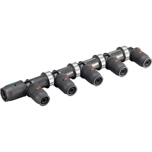 【送料無料】SANEI・三栄水栓製作所 樹脂ヘッダー 3DJ-P-HDL-6P