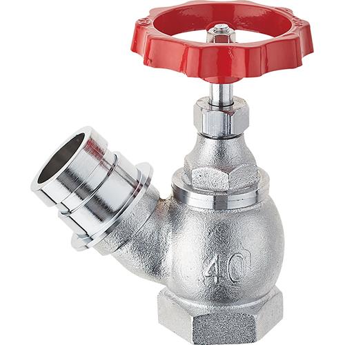 SANEI・三栄水栓製作所 差込45°散水栓 V180-50
