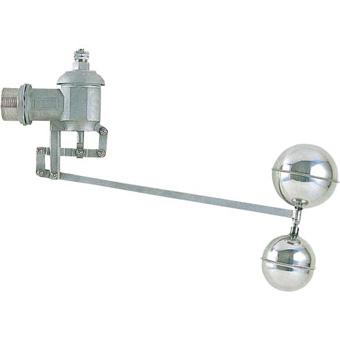 【送料無料】三栄水栓製作所/SANEI複式ステンレスボールタップV425-50