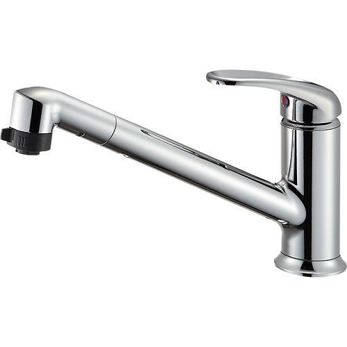 【送料無料】SANEI・三栄水栓製作所 シングルワンホールスプレー混合栓 K87101JK-13