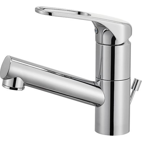 【送料無料】SANEI・三栄水栓製作所 シングルワンホール洗面混合栓 K475PJV-U-13