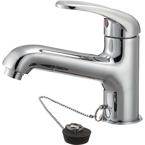【送料無料】SANEI・三栄水栓製作所 シングルワンホール洗面混合栓 K4710JV-13