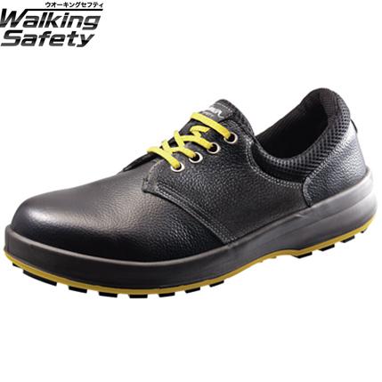 シモン 安全靴 短靴 WS11黒静電靴 23.5cm1700050