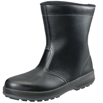 シモン 安全靴 半長靴 WS44黒 25.0cm1700340