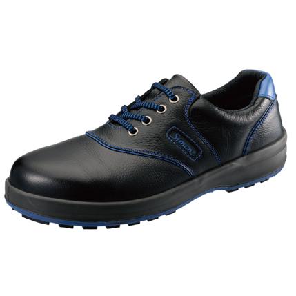 【送料無料】SIMON・シモン 安全靴 短靴 SL11-BL黒/ブルー25.5cm 1700220
