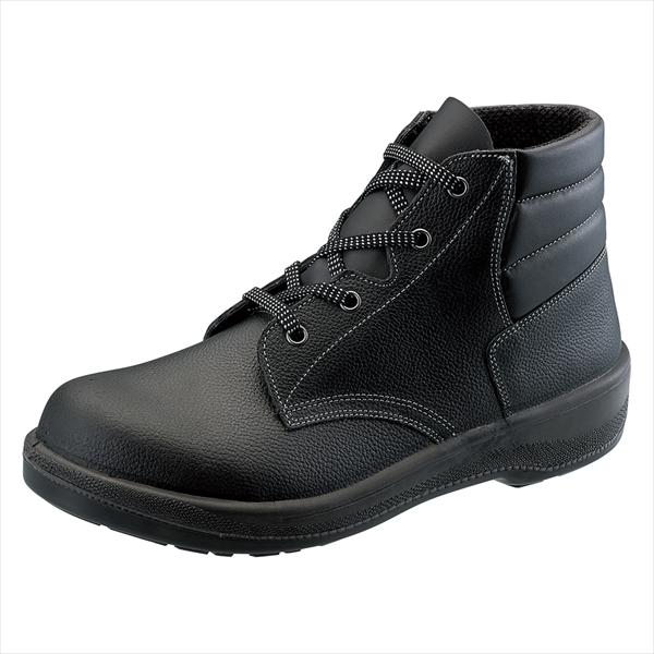 シモン 安全靴 編上靴 7522黒 23.5cm1122500