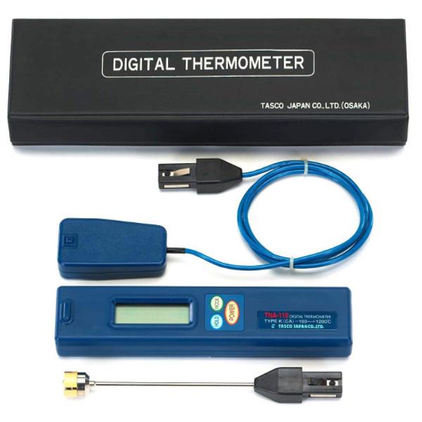【送料無料】 TASCO・イチネンタスコ デジタル温度計高温用セット TA410AC