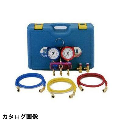 【送料無料】 TASCO・イチネンタスコ R410A/R32マニホールドセット ゲージカバー付 TA122FA