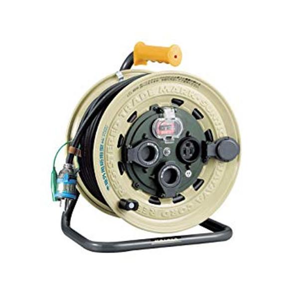 【送料無料】 TASCO・イチネンタスコ 屋外型漏電遮断器付コードリール TA649SB