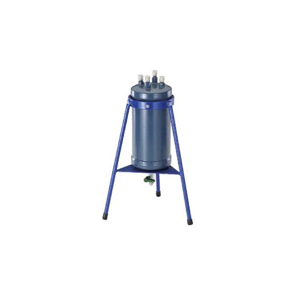 【送料無料】 TASCO・イチネンタスコ 冷媒回収用ユニット 熱交換機能付オイルセパレーター スタンド型TA110-2C