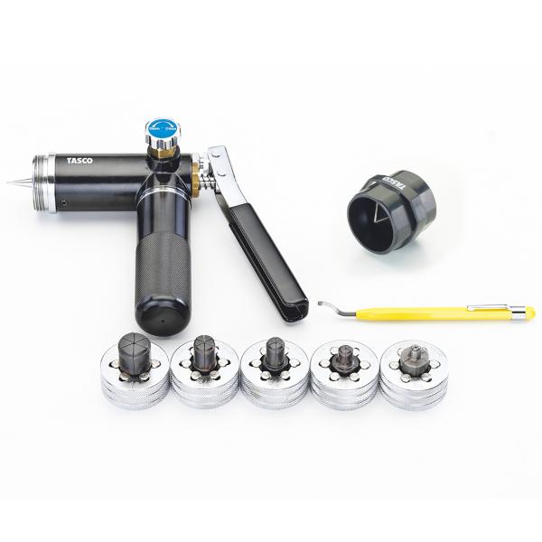 【送料無料】 TASCO・イチネンタスコ 油圧L型 エキスパンダセット TA525PM
