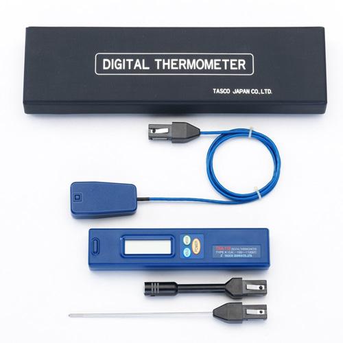 【送料無料】 TASCO・イチネンタスコ デジタル温度計 表面内部センサーセット TA410AF