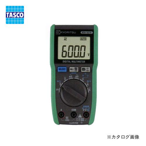 【送料無料】 TASCO・イチネンタスコ デジタルマルチメーター TA452KM