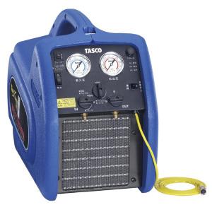 電光石火のスピード 保証 衝撃の回収能力 衝撃の冷却能力 TA110XZ 送料無料 イチネンタスコ 冷媒回収装置ツインサンダー240 あす楽 代引不可 期間限定 TASCO