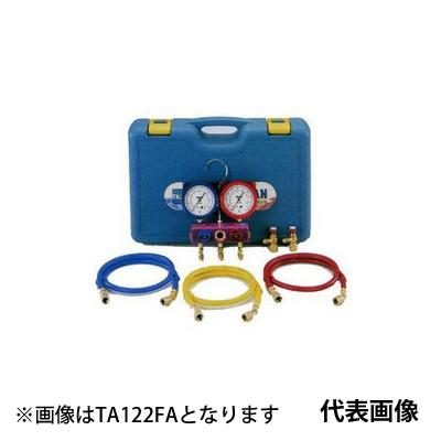 【送料無料】 TASCO・イチネンタスコ R410A/R32マニホールドセット ゲージカバー付 TA122FB
