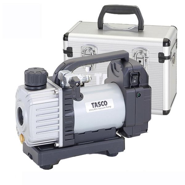 【アルミケース プレゼント】【送料無料】 TASCO イチネンタスコ ルームエアコン専用 省電力型 ウルトラミニ充電式真空ポンプ 本体のみ TA150ZP-1