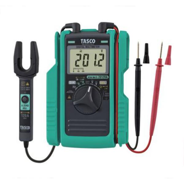 【送料無料】TASCO・イチネンタスコ AC/DCクランプ付デジタルマルチメータ TA452TM