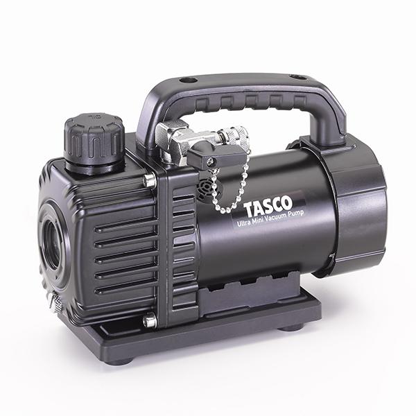 【送料無料】TASCO・イチネンタスコ ウルトラミニシングルステージ真空ポンプ オイル逆流防止弁付 本体のみ TA150SV