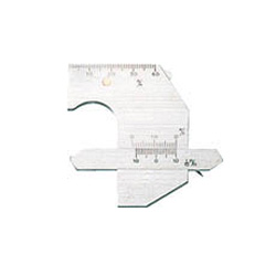 【送料無料】 TRUSCO溶接ゲージ寸法測定精度±0.2TWG2【2297337】