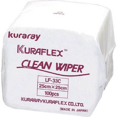 【送料無料】クラレクリーンワイパー 25cmx25cm 3000枚入りLF33C【3752402】
